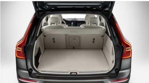 XC60 Reversible/folding textile load compartment mat
